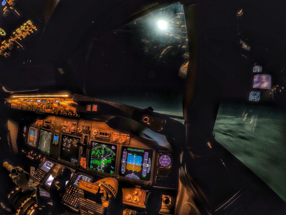 60% of our operation consists of night flying. The new GoPro Hero4 camera's allow for some great photo opportunities!