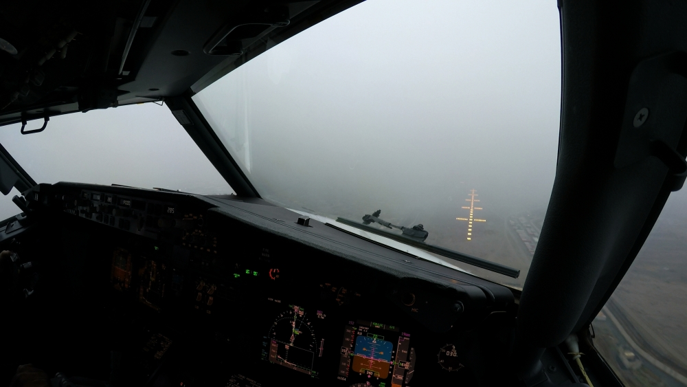 Low visibility in a very challenging destination: Kabul, Afghanistan.