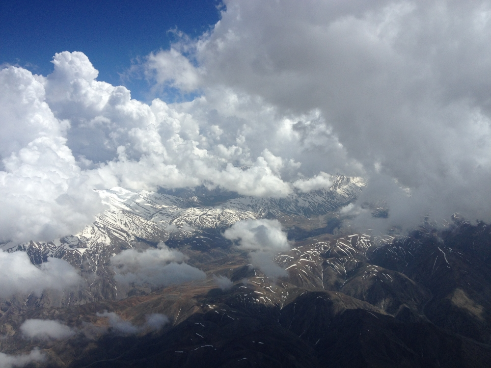 Isn't that just beautiful?! Inbound to Kabul with winter approaching.