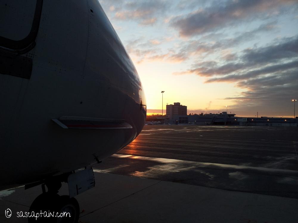 Early morning at Bangor