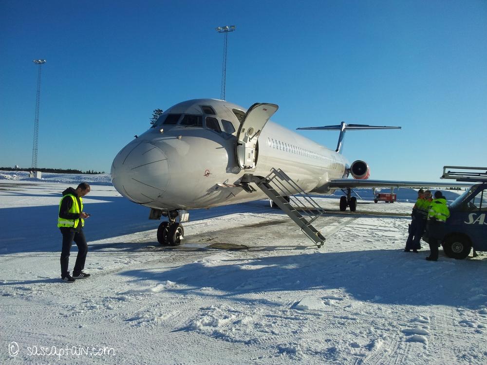 Leaving Oslo soon - A crisp winter day in February 2013