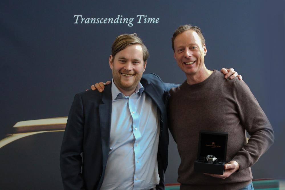 CEO Felix Formark & Christer Lundström, sascaptain.com