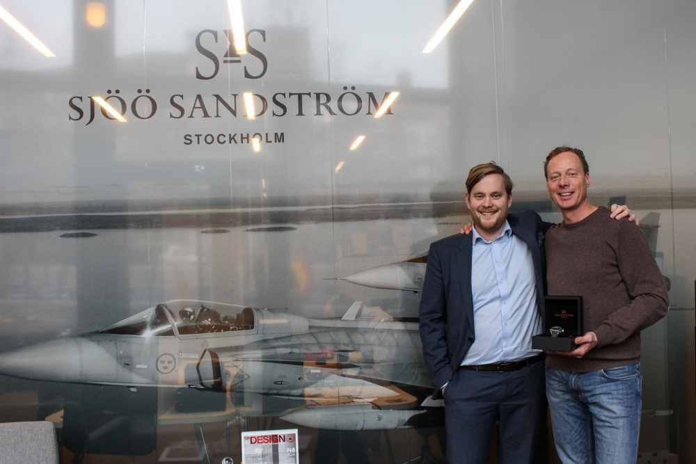 CEO Felix Formark & Christer Lundström, sascaptain.com at the head office in Stockholm